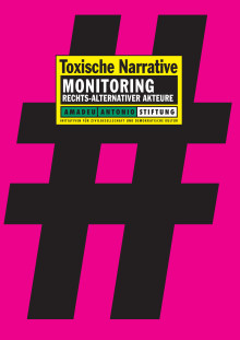 Toxische Narrative. Monitoring rechts-alternativer Akteure