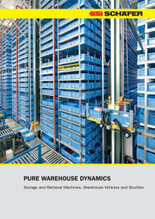 Storage and Retrieval Machines, Warehouse Vehicles and Shuttles