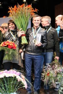 Tomas Kallin är svensk mästare i Interfloras SM i blomsterbinderi 2010