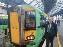 Fond farewell to Southern's Alan after railway career spanning nearly 50 years