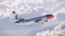 Norwegian foreviger EM '92-legende på haleroret af splinternyt fly
