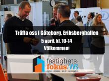 Thermotech medverkar på Fastighetsfokus VVS i Göteborg 5 april