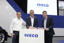 IVECO har sålt 250 gaslastbilar