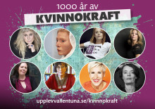 Premiär för 1000 år av Kvinnokraft!