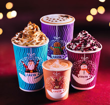 IT'S CHRISTMASSSSS! COSTA COFFEE RELEASES NEW CHRISTMAS CUPS