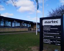 MARTEC er godkendt som udbyder af GWO BTT  - et certifikatgivende kursus til vindmølleindustrien