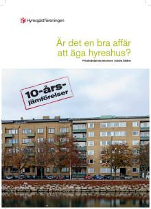 Rapport: Är det en bra affär att äga hyreshus? Privatvärdarnas ekonomi i södra Skåne