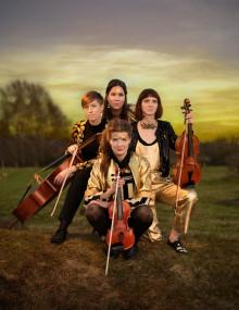 Vindla String Quartet firar 10 år med Tingsek, Lina Nyberg & Kristin Amparo på Palladium Malmö 10 november