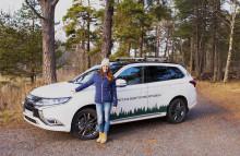 Magdalena Forsberg ny ambassadör för Mitsubishi Motors