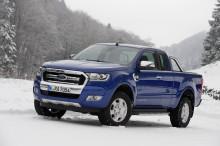 Uusi Ford Ranger –avolava tarjoaa parannettua polttoainetaloudellisuutta, uudistunutta muotoilua sekä edistynyttä teknologiaa