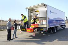 Mobil insamling av farligt avfall i Uppsala