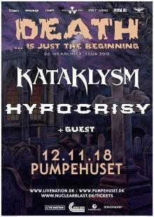 KATAKLYSM + HYPOCRISY / PUMPEHUSET 12. NOVEMBER