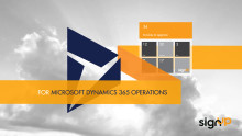 Cloud based ExFlow for Microsoft Dynamics 365 for Operations - Released!