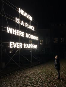 Konstinstallation öppnar för dialog om ny stadsdel i Lund som White utvecklar på uppdrag av Domkyrkan