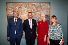 Bestsellerforfatter udstiller hidtil ukendte Munch-værker i Oslo