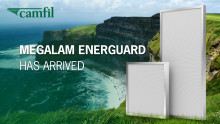 Camfil makes historic breakthrough in HEPA filtration technology for cleanroom industry with Megalam EnerGuard