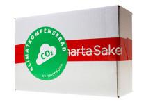 SmartaSaker klimatkompenserar sina frakter!