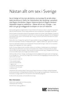 Fakta om webbserien Nästan allt om sex i Sverige
