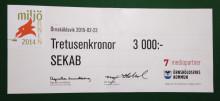 SEKAB stöder Naturskyddsföreningen