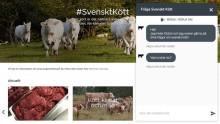 Nu blir det ännu enklare att få svar på dina frågor om svenskt kött