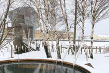 Dags för salta bad i Jubileumsparken