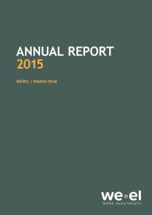 WE®EL - Annual Report 2015
