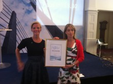 Pris till Fairtrade Sverige och SKTF för hållbart evenemang i Almedalen