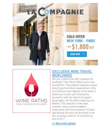 [EN] La Compagnie talks about Wine Paths