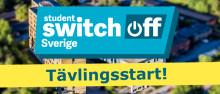 Studenter släcker lampan och lägger locket på - tävlingsstart för Student Switch Off
