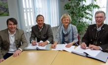 Vertragsverlängerung: Antdorf und Habach setzen auf's Bayernwerk