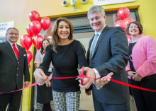 Singer Jane McDonald opens stylish Virgin Trains First Class Lounge in Wakefield