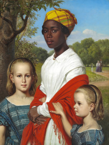 Marstrand's Unusual Family Portrait