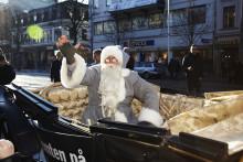 Välkommen till premiärvisning av NK:s julskyltning i Göteborg.