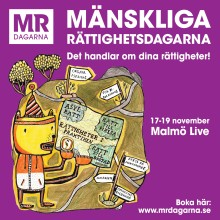 Dags att ackreditera dig till Mänskliga Rättighetsdagarna i Malmö!