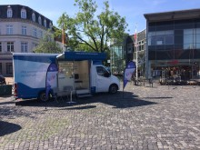 Beratungsmobil der Unabhängigen Patientenberatung kommt am 27. Juli nach Rendsburg.