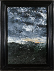 Nordiska museets Strindbergmålning ställs ut i Paris