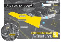 Succén Entreprenad Live återkommer till Göteborg 2018 – nu på Säve Depå vid Säve Flygplats