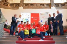 Leipzig verabschiedet seine Olympia-Teilnehmer nach Rio de Janeiro