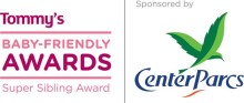 Center Parcs is proud to sponsor Tommy's Super Sibling Award 2014