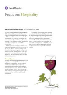 Hospitality - en branschrapport