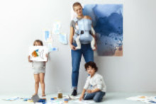 The Watercolor collection – En ny vårkollektion från BabyBjörn som hyllar lekglädje och barns fantasi