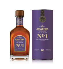 "ANGOSTURA PRESENTERAR No. 1 2nd Edition Once Used French Oak ""The Cask Collection"" serien!"