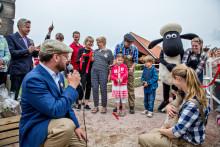 Sommarens äventyr startar på världens första Fåret Shaun Land
