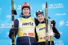 Eliassen og Johansson Norgren er vinnerne av Visma Alp Trophy