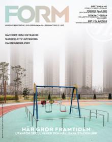 Nya numret av Form: Framtidens städer och morgondagens landskap