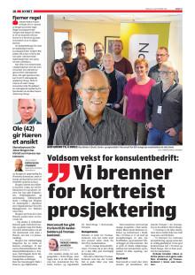 Les omtale av Norconsult i avisen Nordlys