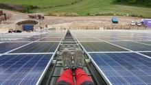 Sveriges största medlemsägda solpark hoppas på en molnfri sommar