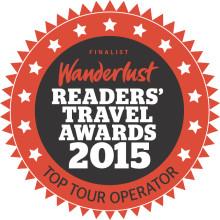 Ramblers Worldwide Holidays Wins Prestigious Wanderlust Travel Award