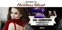 JILL JOHNSON OCH ANDERS BERGLUND PÅ JULTURNÉ MED WELCOME TO CHRISTMAS ISLAND