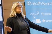 Statssekreterare Agneta Karlsson öppnade eHealth Award 2017